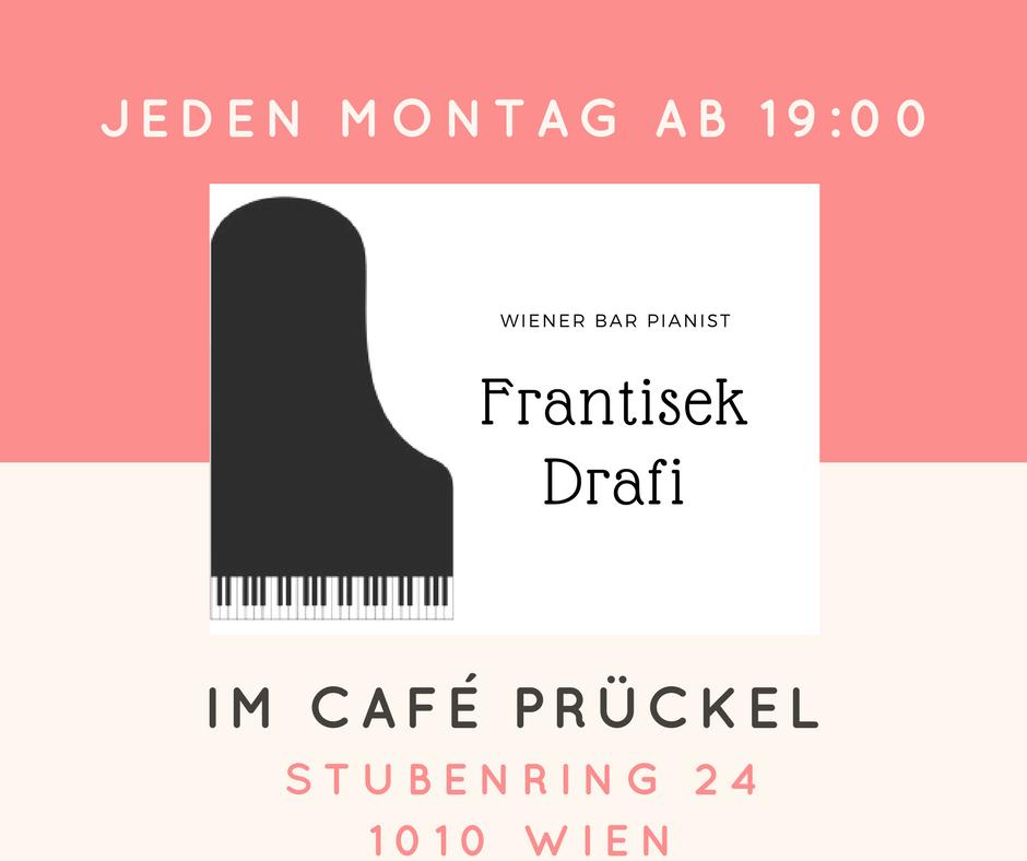 Live Barpiano im Cafe Prückel