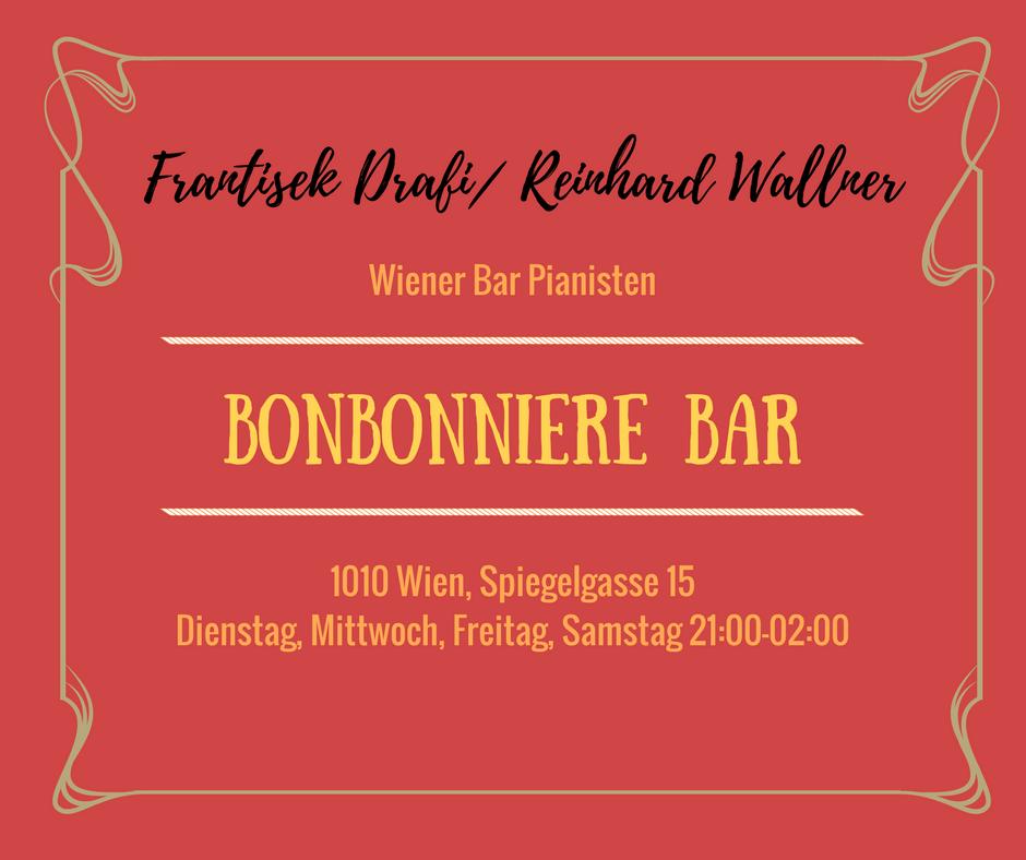 Live Barpiano in der Bonbonniere Bar