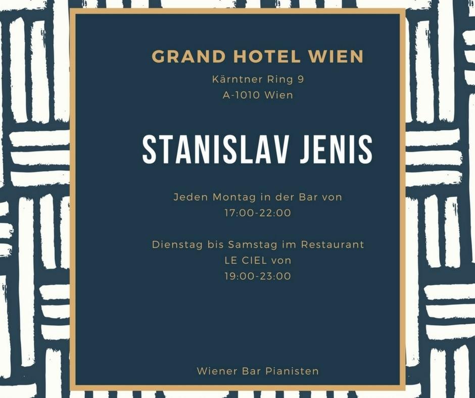 Live Musik iM Grand Hotel in Wien