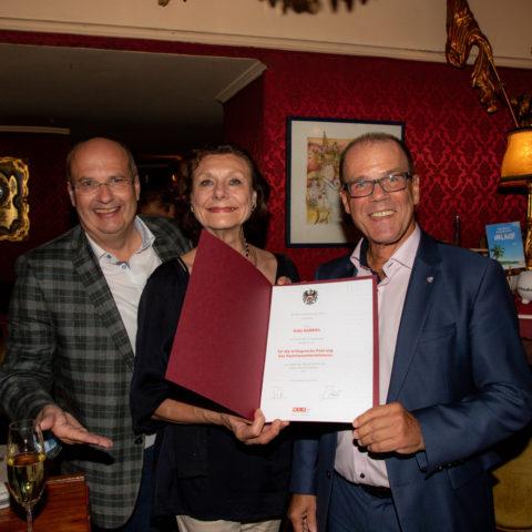 Die Wiener Geschäftsfrau Gaby Gabriel feiert ihren 70. Geburtstag!