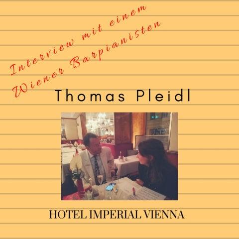 THOMAS PLEIDL. Interview mit einem Wiener Barpianisten.