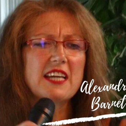 Portrait einer Künstlerin. Alexandra Barnet.