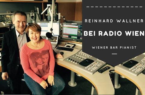 Ein Wiener Barpianist auf Radio Wien
