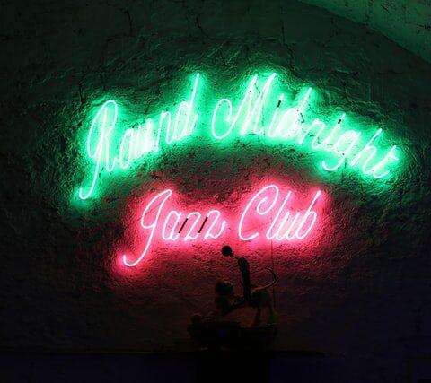 Jazz Club Schild