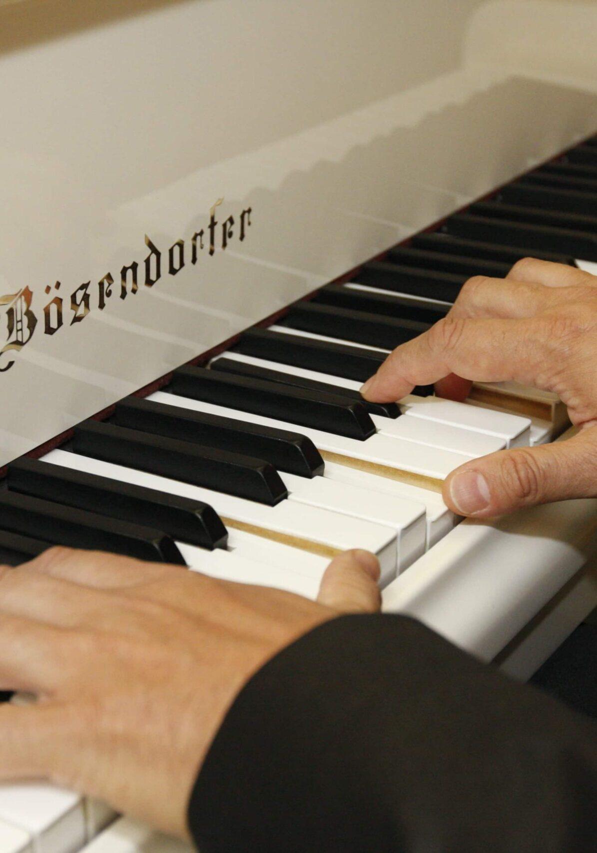 Klaviertastatur Wiener Barpianisten